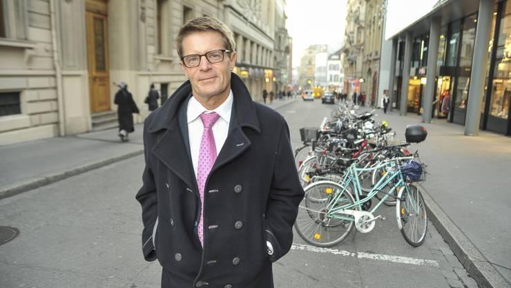 Gabriel Barell, Direktor des Gewerbeverband Basel-Stadt.