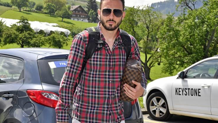 Einrücken in die Nati: Josip Drmic in Feusisberg (SZ)