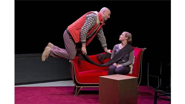 Ficcanaso (Jonathan Sells) und Zerlina (Ulla Westvik).