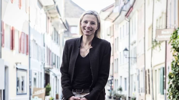 In Aarau zuhause: Suzanne Marclay-Merz