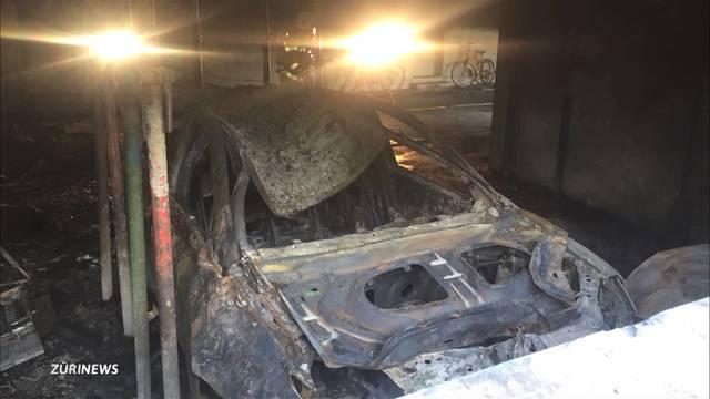 Über 100`000 Franken Schaden nach Tiefgaragen-Brand