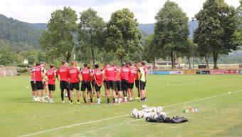 Der FC Aarau im Kurztrainingslager in Süddeutschland