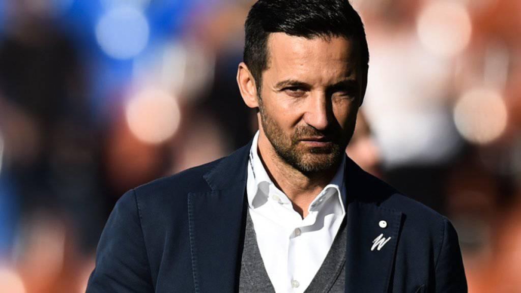 Will gegen Luzern wieder gewinnen: FCSG-Trainer Joe Zinnbauer.