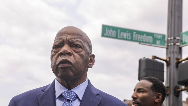 Der US-Bürgerrechtler John Lewis ist tot. (Archivbild)