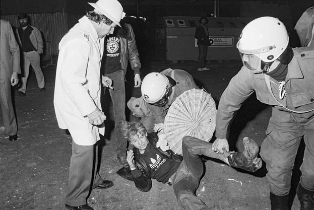 Zürich in der Nacht auf den 31. Mai 1980: Die «Opernhauskrawalle» markieren den Beginn der Jugendunruhen.