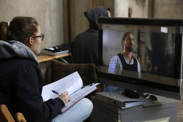 Impressionen von den Dreharbeiten zum Film «Reborn» in Riedholz.