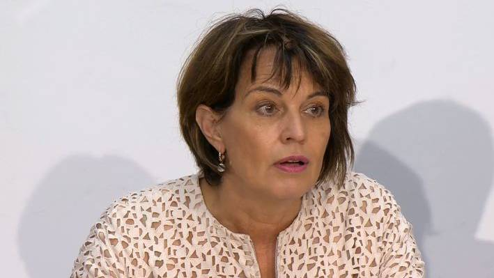Doris Leuthard begrüsst die Entlassung der Postauto-Chefs.