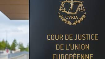 Sitz des Europäischen Gerichtshofs in Luxemburg: Die Richter stellten sich am Dienstag mit ihrem Urteil zum Staatsanleihenkaufprogramm hinter die Europäische Zentralbank (Archiv)