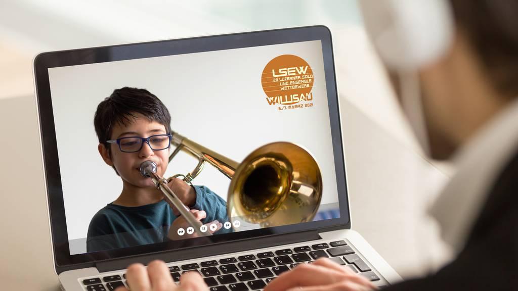 Ein Musikwettbewerb findet online statt