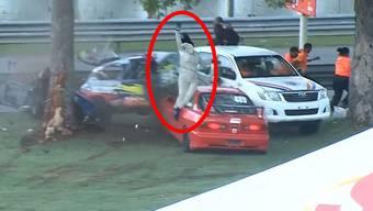 Kaum zu glauben: Szenen eines Autorennens in der Dominikanischen Republik.