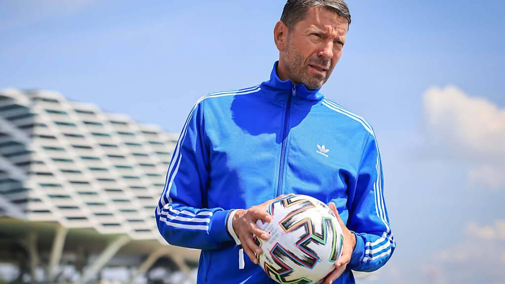 Ihn dürfte es freuen: Kasper Rorsted, Chef des deutschen Sportartikelherstellers Adidas, hat einen Käufer für die Marke Reebok gefunden. Der Verkauf soll Adidas bis zu 2,1 Milliarden Euro in die Kassen spülen. (Archivbild)