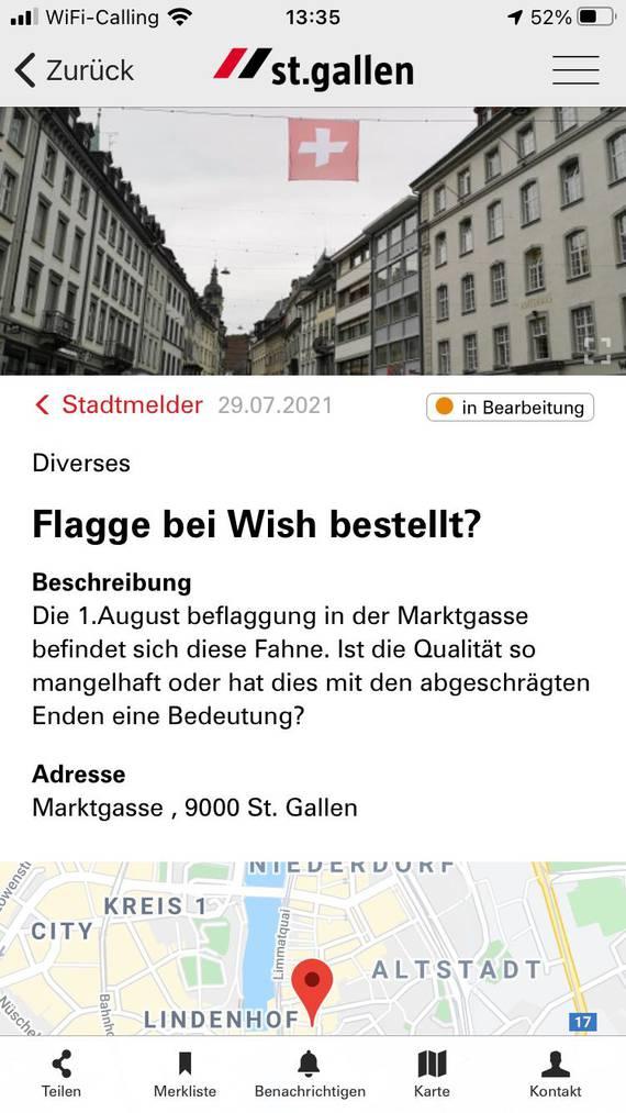 screenshot Stadtmelder