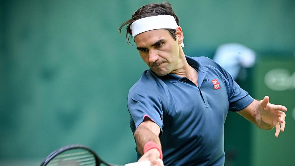 Keine einfache Aufgabe zum Start ins Turnier: Roger Federer trifft in Wimbledon in der 1. Runde auf den Linkshänder Adrian Mannarino.