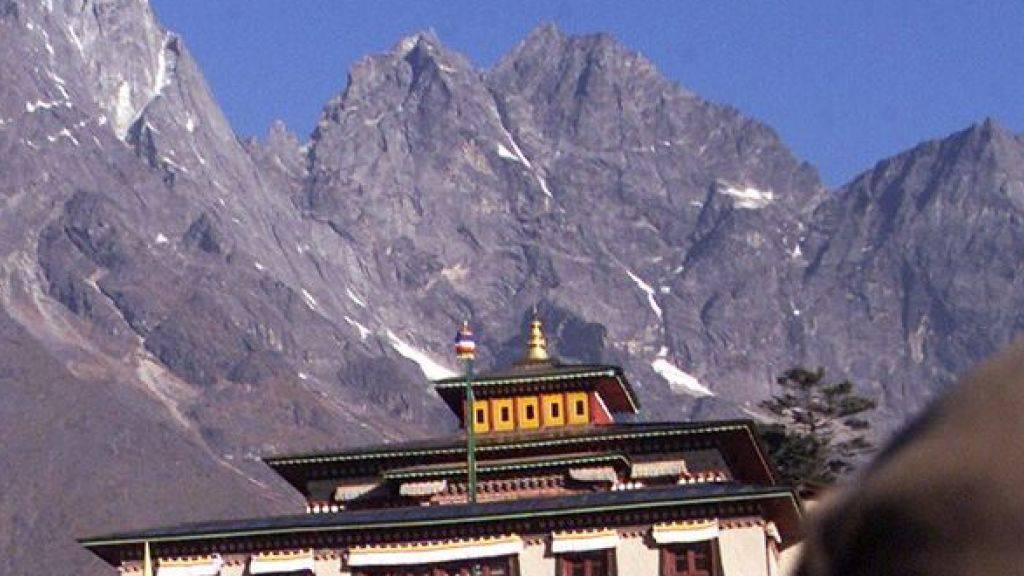 Im Tengboche-Kloster in Nepal wurde der tödlich verunglückte Extrembergsteiger Ueli Steck eingeäschert. (Archivbild)