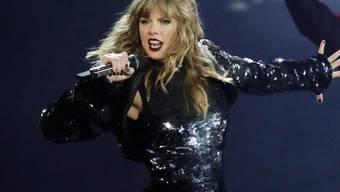 """""""Ich weiss nicht, was ich sonst tun soll"""": US-Popsängerin Taylor Swift darf ihre Songs bei den """"American Music Awards"""" nicht spielen."""