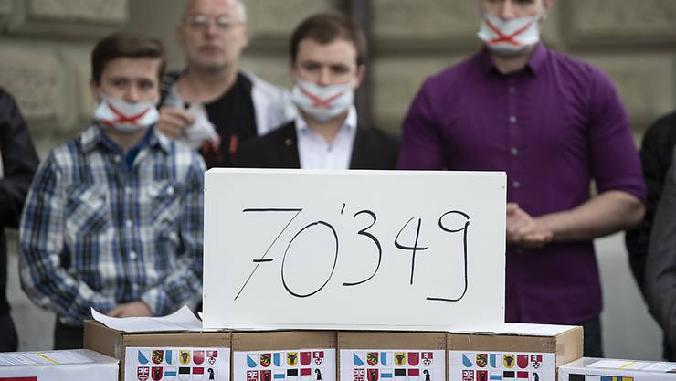 Die Ausweitung der Anti-Rassismus-Strafnorm auf Diskriminierung aufgrund der sexuellen Orientierung kommt vors Volk: Das Referendum ist formell zustande gekommen. Die Gegner sehen in der Gesetzesänderung eine Einschränkung der Meinungsfreiheit. (Archivbild)