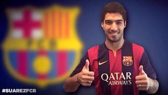 Luis Suarez wechselt zum FC Barcelona