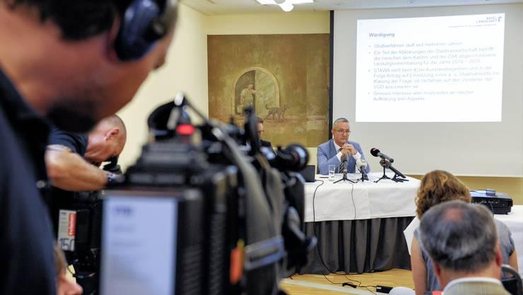 Die Baselbieter Staatsanwaltschaft stellt den Antrag, dass jemand Externes gegen Regierungsrat Thomas Weber ermittelt.