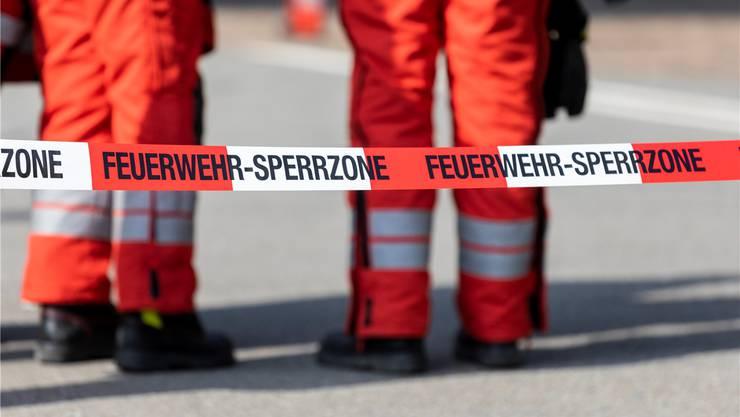 Im Schachen, auf Gemeindegebiet von Flumenthal, löscht im Notfall die Feuerwehr Deitingen. Symbolbild/AZ