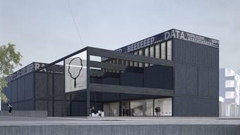 """Das Projekt für das in Lenzburg geplante """"Haus der Gegenwart"""" der Stiftung Stapferhaus."""