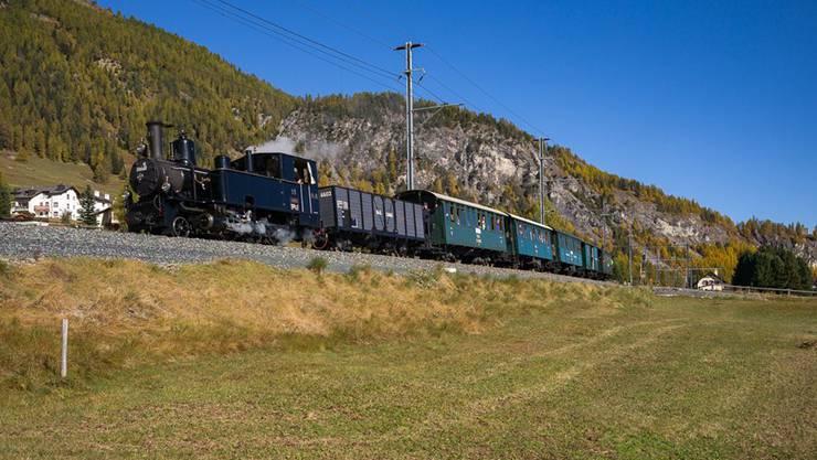 Über 50 Sonderfahrten im Jahr bieten die drei grössten Bündner Bahnvereine in Zusammenarbeit mit der RhB an. Bild © Club 1889