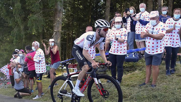 An der Tour de France überzeugte Marc Hirschi auf unterschiedlichem Terrain. Als Lohn gab es für den jungen Berner einen Etappensieg und die Auszeichnung zum aktivsten Fahrer