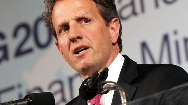 US-Finanzminister Geithner konnte sich in Pusan nicht durchsetzten (Archiv)