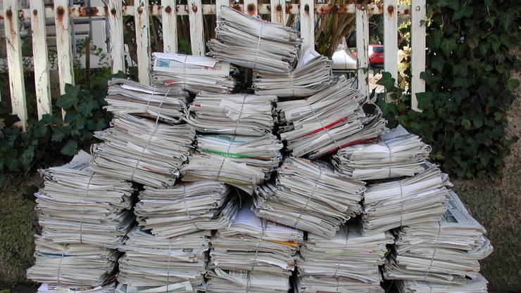 Wenn alle Unterlagen, die heute in Papierform zugestellt werden, künftig elektronisch übermittelt würden, könnte der Kantonsrat viel Papier sparen (Symbolbild).