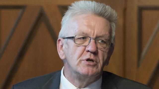 Winfried Kretschmann in Bern