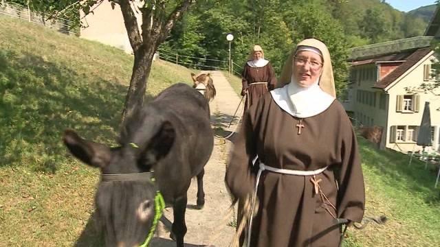 CD von singender Nonne