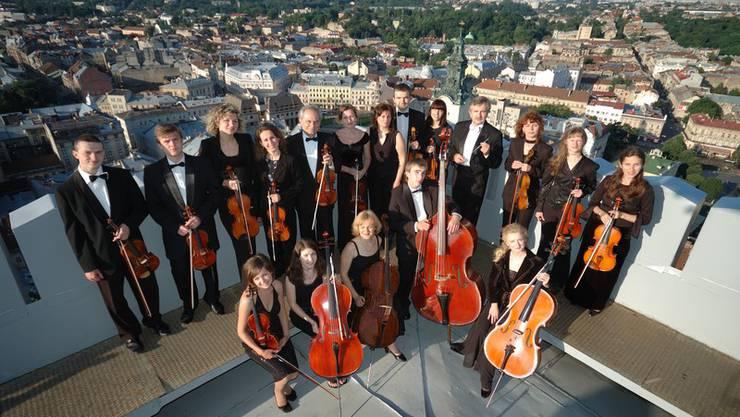 Das Ukrainische Spitzenorchester Lviv Virtuosos