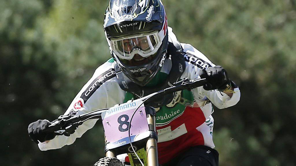 Die Bielerin Emilie Siegenthaler fährt im Heimweltcup in Lenzerheide ihr bisher bestes Rennen. (Archivbild)
