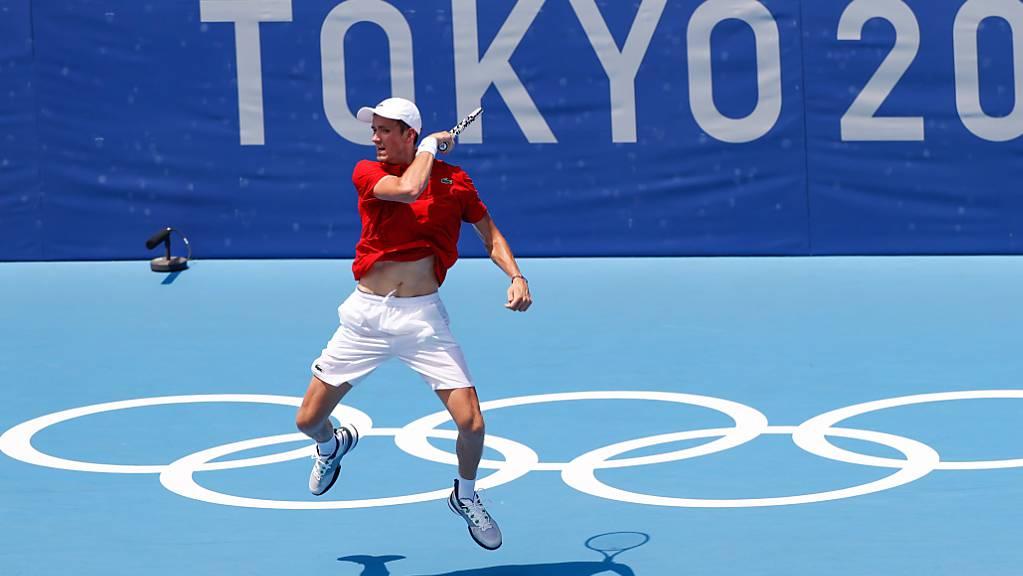 Olympiatraum ausgeträumt: Daniil Medwedew