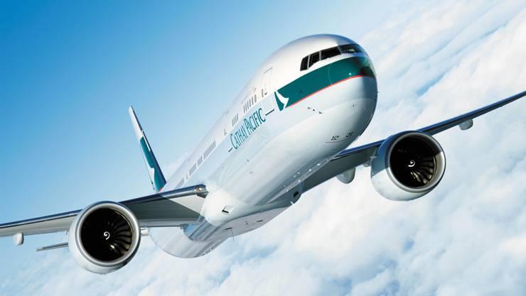 Eine Solche Boeing vom Typ 777-300ER werden bald wieder über Zürich verkehren.