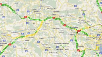 Echtzeit-Verkehrsinfos von Google Maps