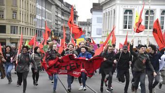 2. Version von Tag der Arbeit: 1. Mai-Umzug in Basel 2018