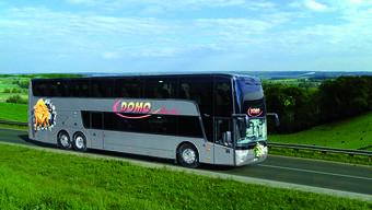 Im Aargau halten die Busse von Domo Swiss Express AG in Baden und in Rothrist, das zur Bus-Drehscheibe wird.