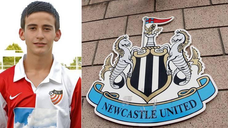 Alban Selmanaj, ein Juwel aus der Solothurner Talentschmiede, darf zu Newcastle United ins Probetraining.