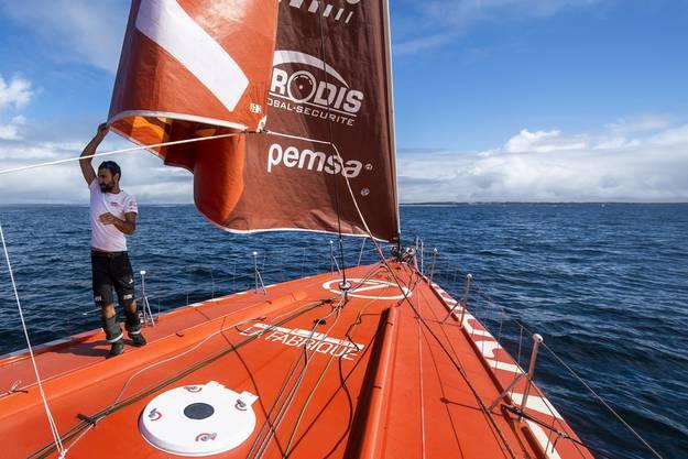 Der Genfer Alan Roura strebt einen Platz in den Top Ten an.