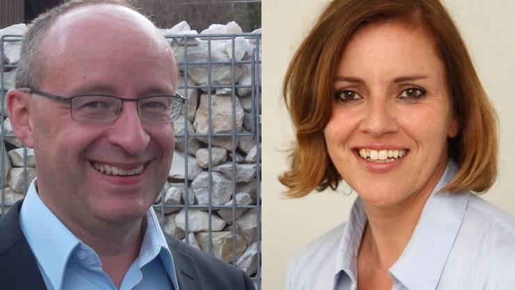 Rébecca Schneider und Daniel Aeschbach neu in den Gemeinderat gewählt