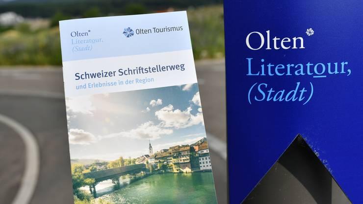 Die Marke Olten Literatour soll nach dem Willen von Olten Tourismus ausgebaut werden.