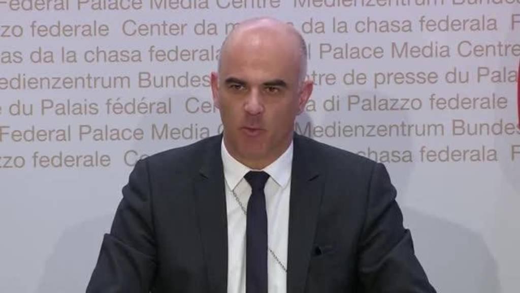 Komplette Pressekonferenz des Bundesrates vom 3. April 2020