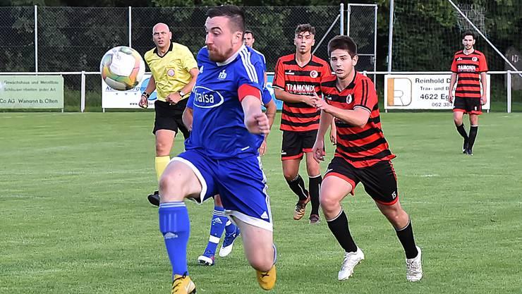 Kevin Marthaler war in der Vorrunde fünfmal erfolgreich für den FC Bellach.