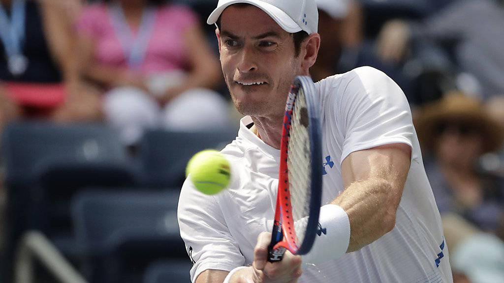 Andy Murray bereitet sich auf sein Comeback in Queen's vor