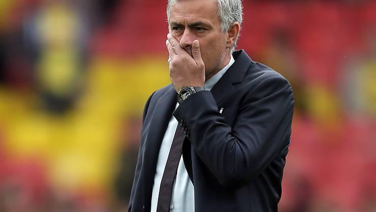 José Mourinho musste mit Manchester United in Watford einen weiteren Rückschlag hinnehmen
