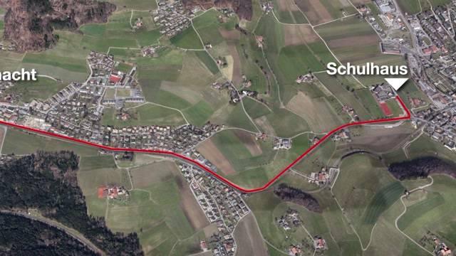 Schulweg in Worb