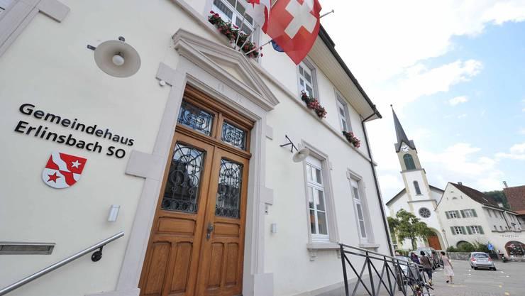 Gemeindehaus Erlinsbach SO. (Archiv)