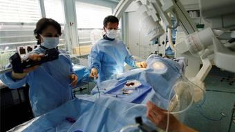 35 der 80 Ärzte am Gesundheitszentrum Fricktal stammen aus Deutschland. Symbolbild: key/archiv