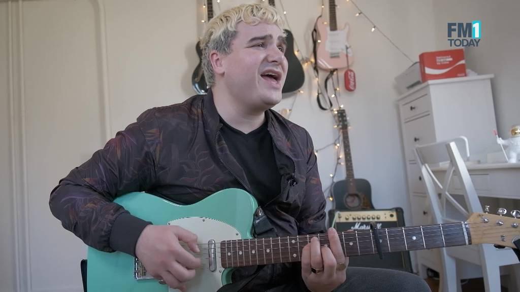 Vom ETH-Student zum Vollzeit-Musiker: Aaron aus Rapperswil schafft es ins MyCoke-Final