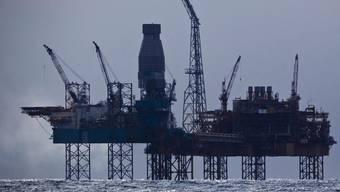 Die Bohrinsel Elgin in der Nordsee (Archiv)